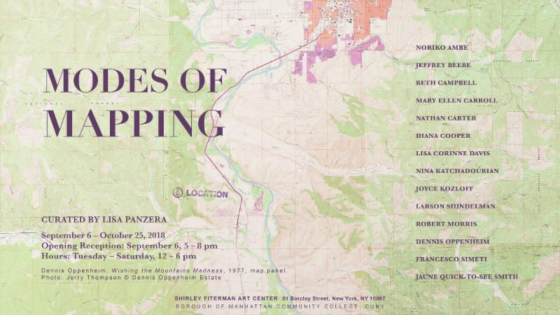 Small Modes of Mapping Exhibition Image
